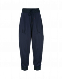 COLLUDE: Pantaloni sportivi in jersey blu