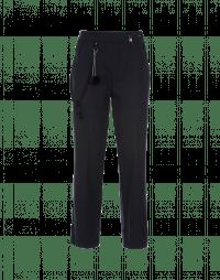 FIDGET: Straight leg pant in navy jersey