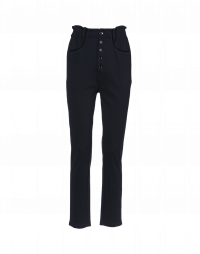 STANCE: Elasticated waist pant with button-thru fly