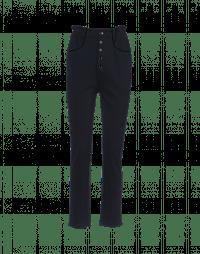 STANCE: Pantaloni in jersey blu con vita elasticizzata