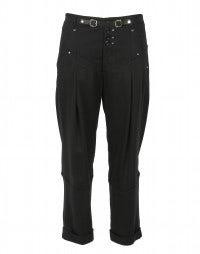 BALANCE: Comfort stretch wool blend pants