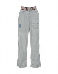 HUCK: Jeans a vita alta con trattamento