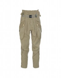 RISKY: Biscuit contemporary cargo pants