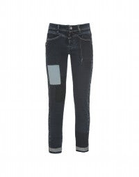 CALL-ME: Slim leg tuxedo dye jeans