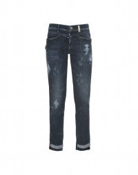 "CALL-ME: Enge Jeans mit Veredelung ""Skylight"""