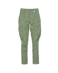 SCARPER: Apple green slim leg pants