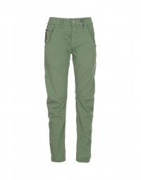 HAVOC: Apple green curved seam pants
