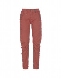 HAVOC: Terracotta curved seam pants