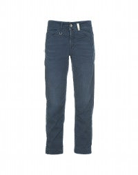 CAPITAL: Blue wash straight leg pants