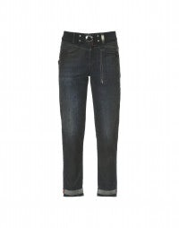 CALL ME: Leather wash skinny jeans