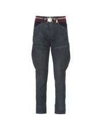 GEOMETRY: Jeans blu