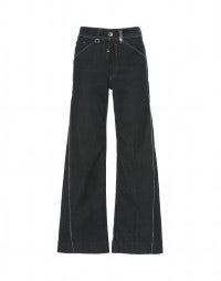 CAPTAIN: Jeans a campana con trattamento