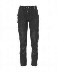 COERCE: Jeans con trattamento effetto pelle