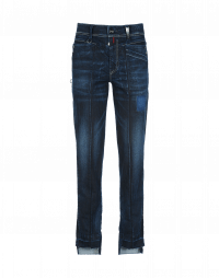KICK-OFF: Jeans aderenti in denim scuro