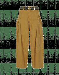 SAUNTER: Pantaloni con cuciture multiple effetto patchwork