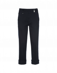 CHROMA: Straight leg side opening pant