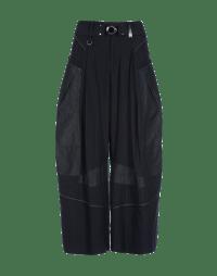 SAUNTER: Pantalone effetto patchwork con cuciture multiple