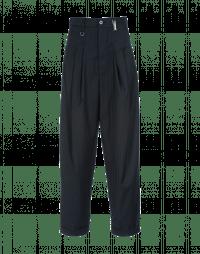 REALIST: Pantalone gessato blu e grigio