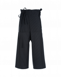 RUMBLE: Pantalone gessato avvolgente