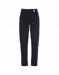 LINE UP: Navy cotton twill pants