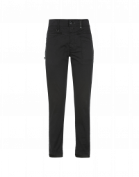 KICK OFF: Grey cotton pants with side inset band