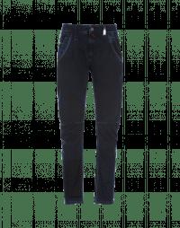 HAVOC: Jeans blu con gamba sagomata