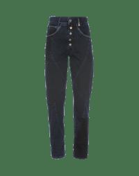 RIGOR: Jeans blu scuri con pannelli multipli e sfumature