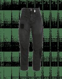 RESOUND: Jeans grigi con inserti multipli