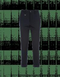 INTEND: Straight leg pant in navy virgin wool