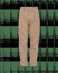 RESOUND: Jeans in denim con cuciture incrociate