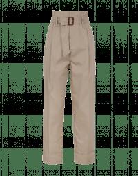 BEYOND: Pantaloni a vita alta con cintura