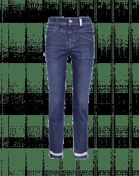 KICK-OFF: Slim fit jeans with hip pocket and spilt hem
