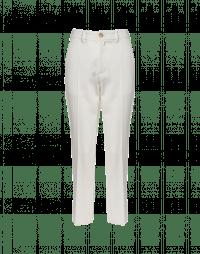 PRIORITY: Pantaloni a vita alta in twill
