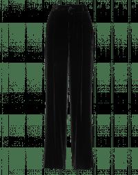FORBID: Wide leg, soft fluid velvet pants