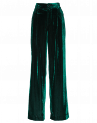 FORBID: Pantaloni larghi in velluto fluido