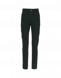 INTEGRITY: Slim leg multi-seam pants in twill