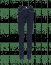 VAULT: Jeans a 5 tasche in denim blu