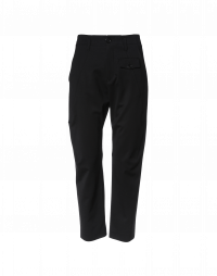 HYPER: Pantaloni neri in gabardina