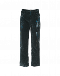 RASCAL: Pants with hand painted effect