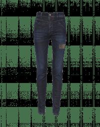 ABRUPT: Jeans slim con trattamento manuale