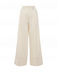 UPSTART: Cream high waisted palazzo pants