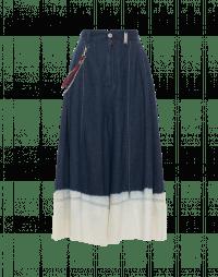 WANDERLUST: Pantaloni a gamba ampia con sfumatura tie-dye