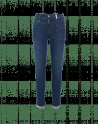 KICK-OFF: Jeans con sprone e tasche diagonali