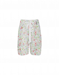 SCANTY: Liberty print 4 pleats shorts