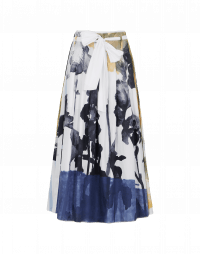 TWIRL: Skirt in over-size floral print