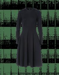 CHOOSY: Marineblaues Kleid mit Spitzendetails