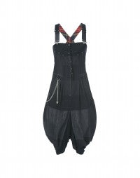 ABOUND: Contemporary denim pinafore dress