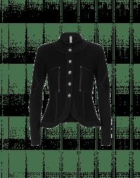 FRISK: Giacca in jersey con colletto in piedi