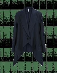 SWANKO: Giacca drappeggiata blu e navy