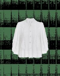 INTRICATE: Camicia ricamata con maniche ampie